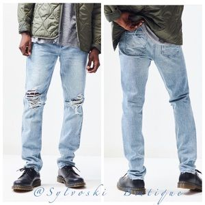 🔥PacSun Light Destroy Skinny Jeans NWT